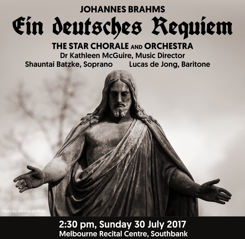 Our next concert: Sunday, 30 July 2017 2:30pm, Melbourne Recital Centre
